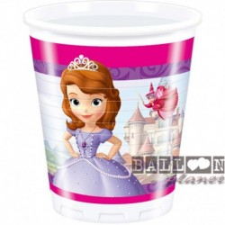 8 Bicchieri Plastica Sofia 200 ml