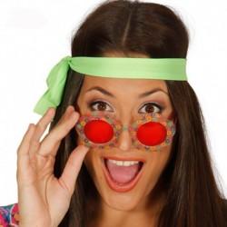 Occhiali Hippie Montatura Floreale