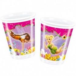10 Bicchieri Plastica Trilly 200 cc