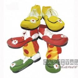 Scarpe Maxi Clown Colorate