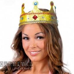 Corona Reale Tessuto Oro