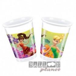 8 Bicchieri Plastica Trilly 200 ml