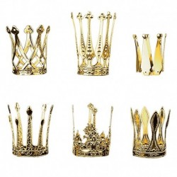 Mini Corona Reale Metallo Oro