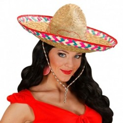Cappello Sombrero Paglia Naturale