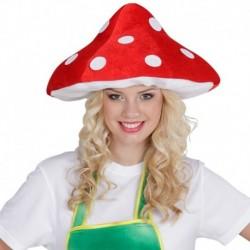 Cappello 3D Fungo Rosso