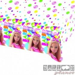 Tovaglia Plastica Barbie 120x180 cm