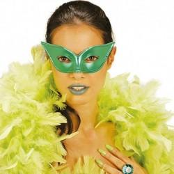 Maschera Plastica Papillon Metallizzata
