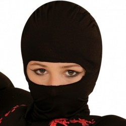 Maschera Tessuto Ninja Nero