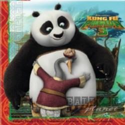 20 Tovaglioli Carta Kung Fu 33x33 cm
