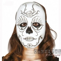 Maschera Plastica Calaveras Messicano