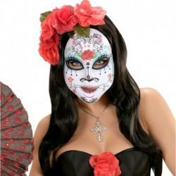 Maschera Tessuto Muerte Calaveras