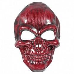 Maschera Teschio Rosso