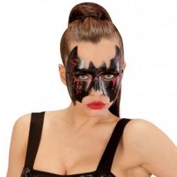 Maschera Similpelle Pipistrello Sangue
