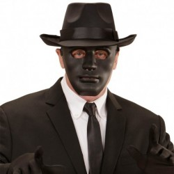 Maschera Plastica Anonimo Nero