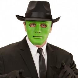 Maschera Plastica Anonimo Verde