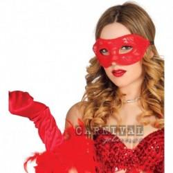 Maschera Red lace