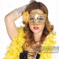 Maschera Tessuto Luxury Leopard