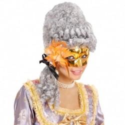 Maschera Plastica Gran Galà Oro