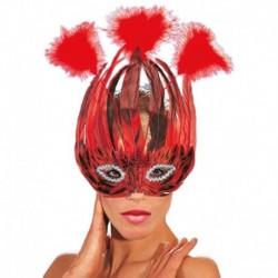 Maschera Piumata Lido Color
