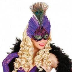 Maschera Piumata Elegance Color