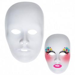 Maschera Viso bianca
