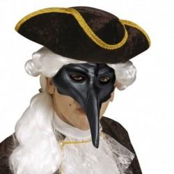 Maschera Plastica Veneziana Nera