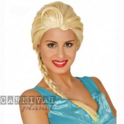 Parrucca Elsa Treccia Bionda