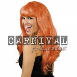 Parrucca Lunga Arancione