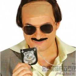 Distintivo Police 7,5x7,5 cm
