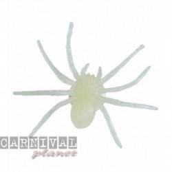 Confezione 6 Ragni Glow 8 cm