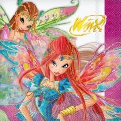 20 Tovaglioli Carta Winx 33x33 cm