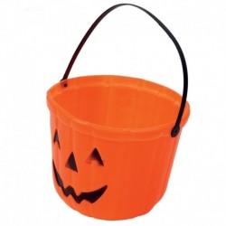 Secchiello Zucca Halloween 20 cm