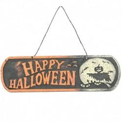 Insegna Halloween 40x12 cm