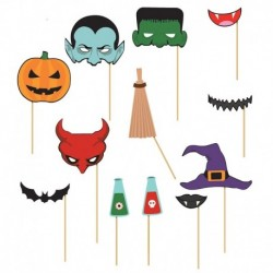 12 Photo Booth Halloween
