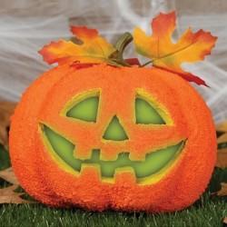 Zucca Halloween Polistirolo 20 cm
