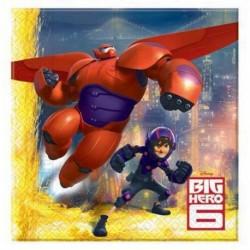 20 Tovaglioli Carta Big Hero 33x33 cm