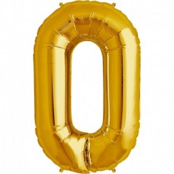 Pallone Numero 0 Oro 90 cm
