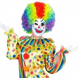 Maschera Plastica Clown
