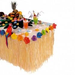 Table Skirt Hawaiana Gonna Rafia 275x75