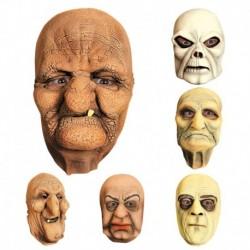 Maschera Lattice Anziano Cariatide