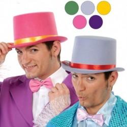 Cappello Cilindro Feltro Colour
