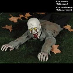 Zombie Strisciante Luci Suoni