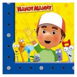20 Tovaglioli Carta Handy Manny 33x33 cm