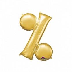 Pallone Simbolo % Oro 40 cm