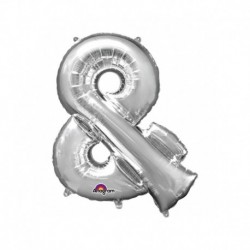 Pallone Simbolo & Argento 40 cm