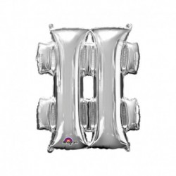 Pallone Simbolo # Argento 40 cm