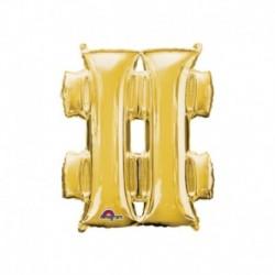 Pallone Simbolo # Oro 40 cm