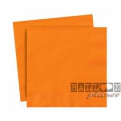 20 Tovaglioli Carta Arancio 25x25 cm
