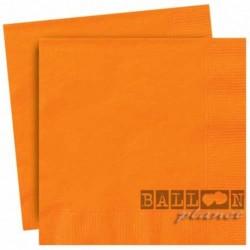 20 Tovaglioli Carta Arancio 33x33 cm