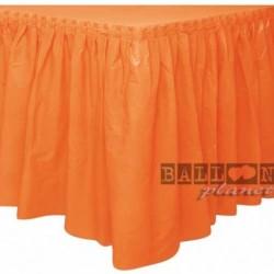 Gonna Plastica Arancio 74x420 cm